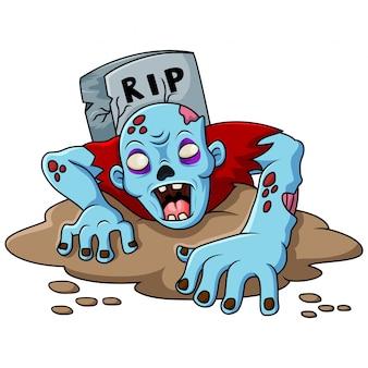 Zombies komen uit het graf