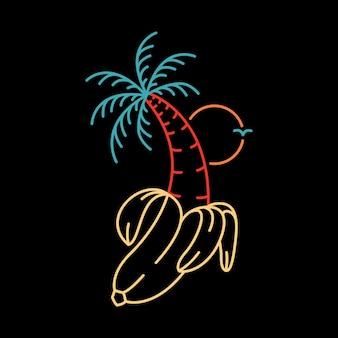 Zomer banaan