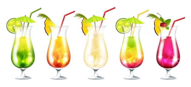 Zomer cocktails