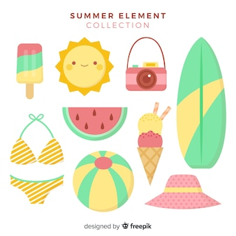 Zomer element collectie