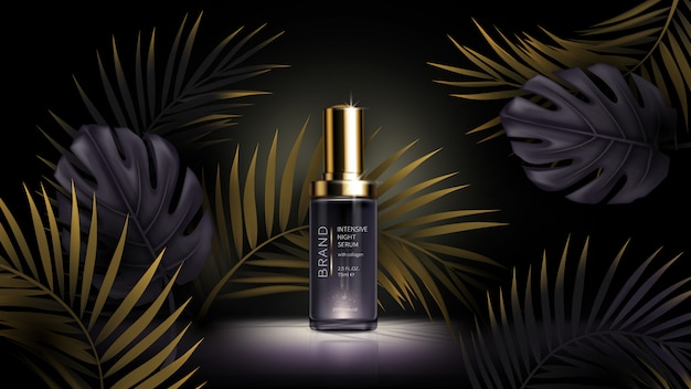 Zomer huidverzorging cosmetica, tropic