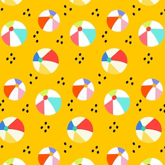 Zomer patroon collectie ontwerp