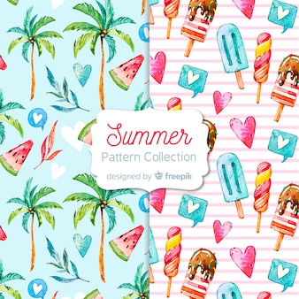 Zomer patroon collectie