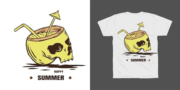Zomer t-shirt ontwerp