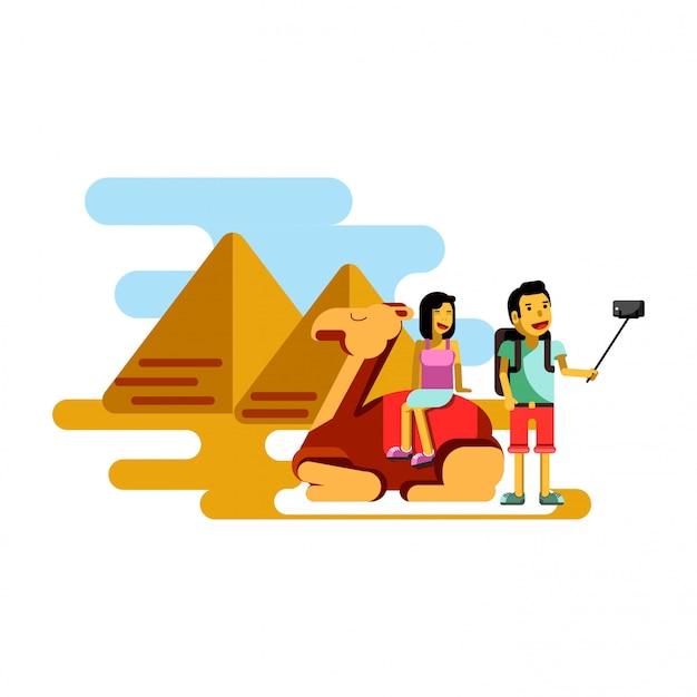 Zomer vakantie poster vectorillustratie