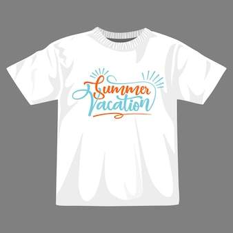 Zomer vakantie t-shirt ontwerp