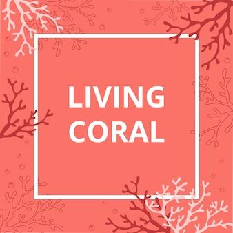 Zomerbunker met koralen