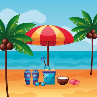 Zomertijd vakantie