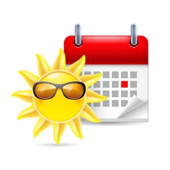 Zon en kalender