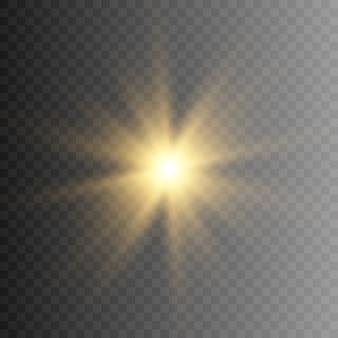 Zon, lichtstralen