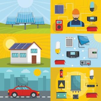 Zonne-energie gereedschap