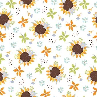 Zonnebloemen patroon