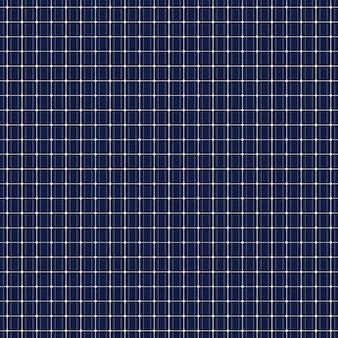 Zonnepaneel naadloos patroon. stroom van de zon. donkerblauwe achtergrond. milieutechniek. red de planeet. vector illustratie.