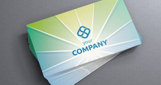 Zonnestraal corporate business card