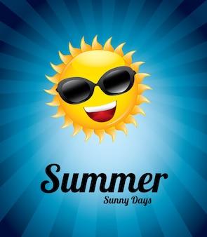 Zonnige zomerdag