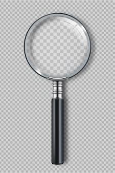Zoom realistische symbolen detective-item.
