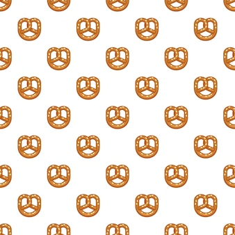 Zout krakeling naadloos patroon