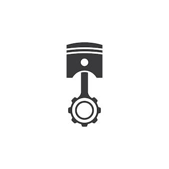 Zuiger logo afbeeldingen afbeelding ontwerp