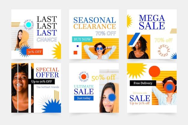 Zure verkoop instagram postverzameling