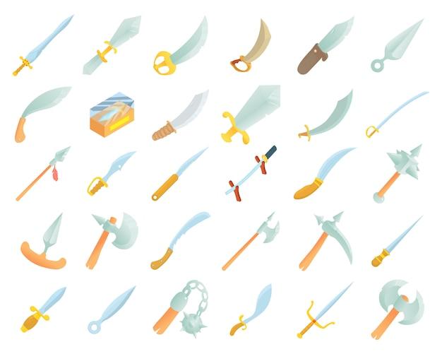 Zwaard pictogramserie