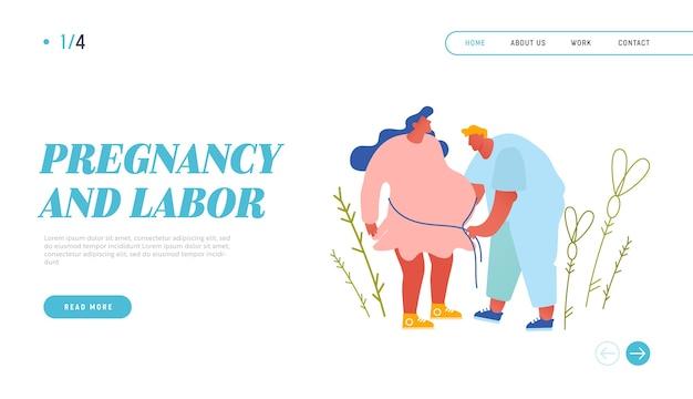 Zwangerschap medische controle website bestemmingspagina.