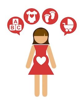 Zwangerschap ontwerp