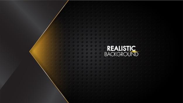 Zwart abstract achtergrondmat geometrisch elegant futuristisch glanzend licht