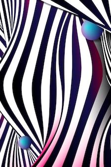 Zwart abstract ontwerp als achtergrond