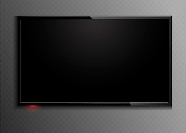 Zwart beeldscherm. tv.