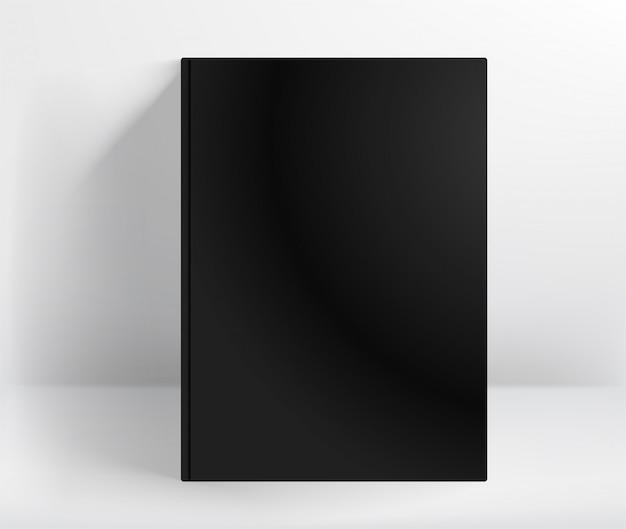 Zwart boek met harde kaft