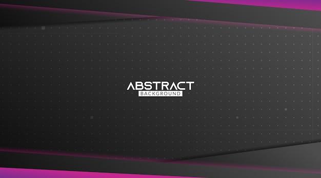 Zwart en paars gaming abstracte achtergrond
