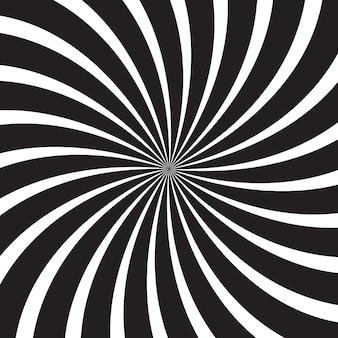Zwart en wit abstracte zonnestraal