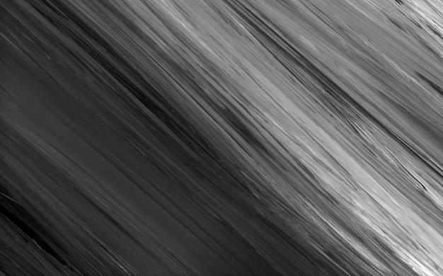 Zwart en wit acryl penseelstreek gestructureerde achtergrond