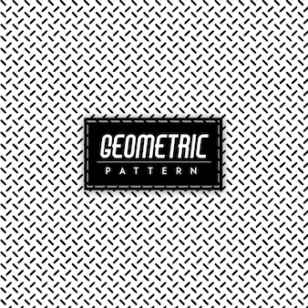 Zwart en wit geometrisch patroon