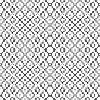Zwart en wit geometrische naadloze patroon