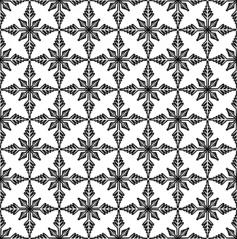 Zwart en wit patroon