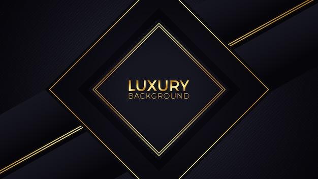 Zwart goud luxe achtergrond
