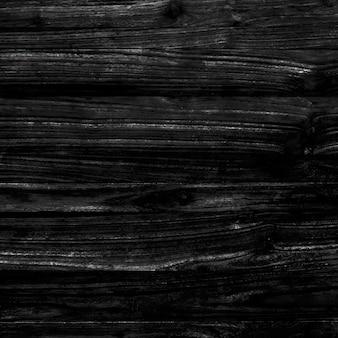 Zwart hout getextureerde ontwerp achtergrond