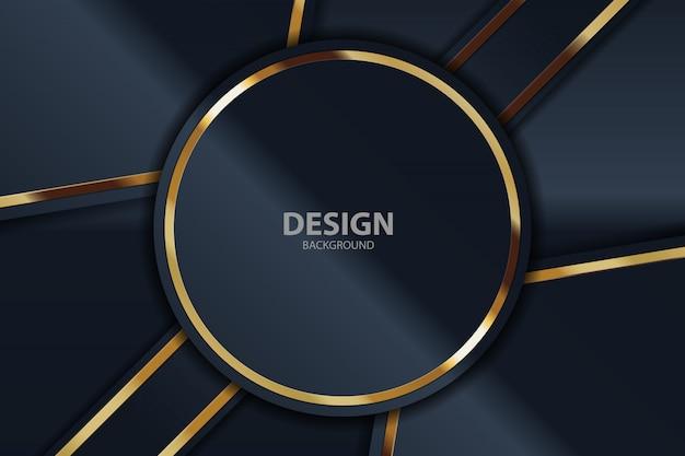 Zwart licht als achtergrond met abstracte kleuren moderne technologie