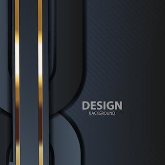 Zwart licht als achtergrond met abstracte moderne kleur