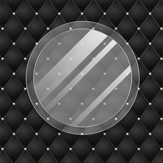 Zwart met 3d-stijl