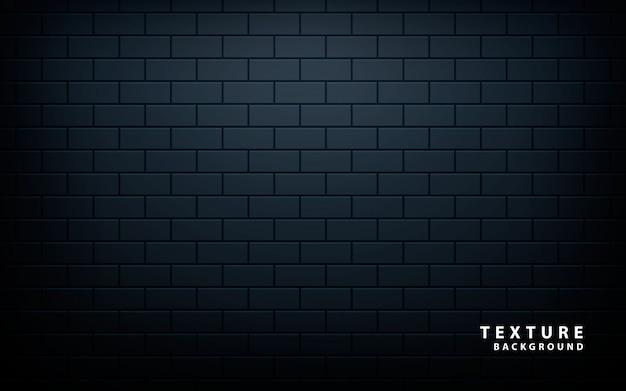 Zwart muurpatroon
