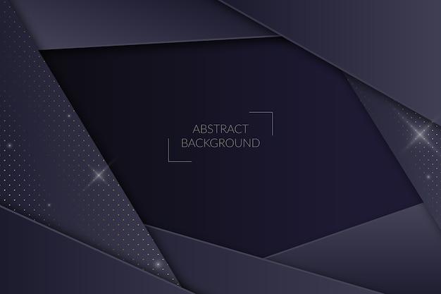 Zwart papier achtergrond met halftoon effect