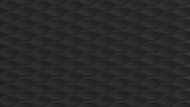 Zwart papier naadloze structuurpatroon