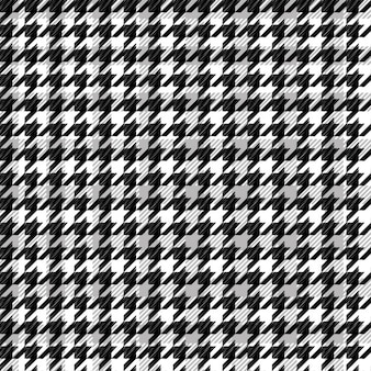 Zwart patroon houndstooth