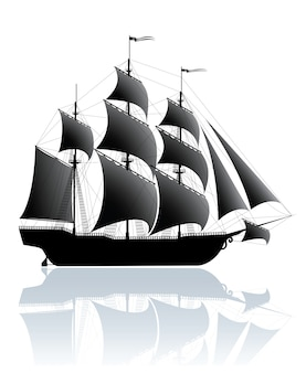 Zwart schip