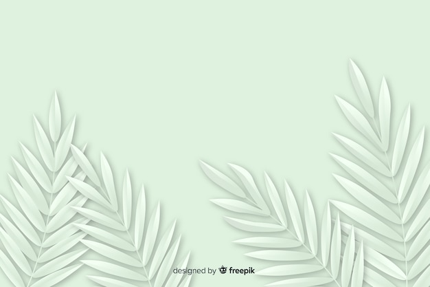 Zwart-wit achtergrond met plant