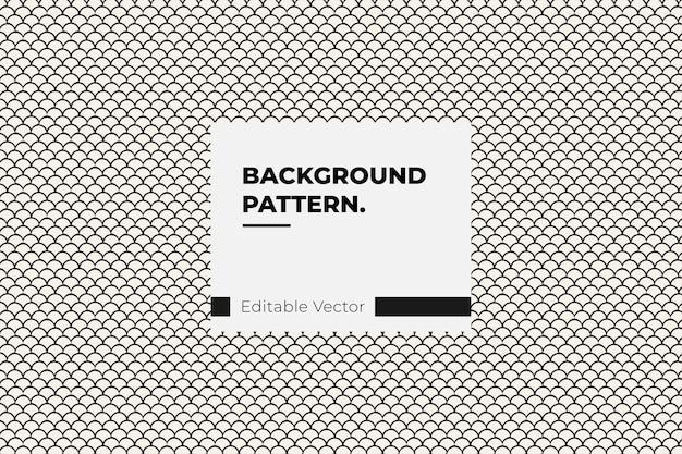 Zwart-wit chevron geometrische naadloze patroon
