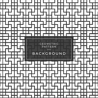 Zwart-wit geometrisch naadloos patroon met de lijnen van de lijnzigzag.