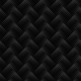 Zwart-wit geometrische naadloze diagonale vierkante patroonachtergrond
